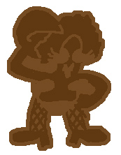 a chunky chocolate skank